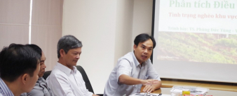 MDRI trình bày kết quả phân tích điều tra đầu kỳ dự án Giảm nghèo Tây Nguyên