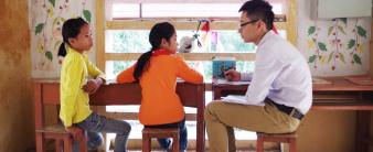 Khởi động vòng khảo sát đánh giá tác động dự án Mô hình trường học mới VNEN 2015