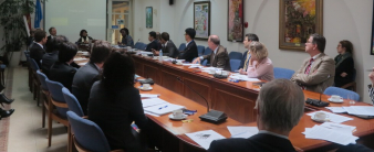Dr. Phung Duc Tung presented at the annual donor meeting hosted by UNDP