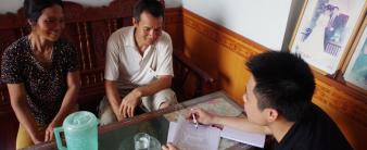 Khảo sát hộ gia đình về dự án nước sạch tại xã Mỹ Hương