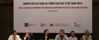 Vietnam – Launching workshop for the Research on Improving Systems of Education (RISE)