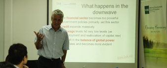 """MDRI seminar: """"The real causes of the recent economic crisis and current economic turmoil"""""""